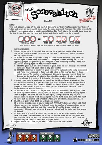 Our Sonovabitch - instructions and pieces sheet in high res jpeg