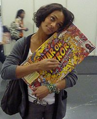 Image for Kandyse McClure digs our games!