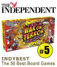 Image for 'War on Terror' no. 5 in the Independent's Top 50 Board Games