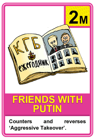 Friends With Putin