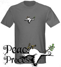 Peace Process T-shirt on Cafe Press